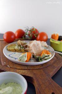 Tomateneis die deftige Eisvariation mit mediterranen Häppchen 9