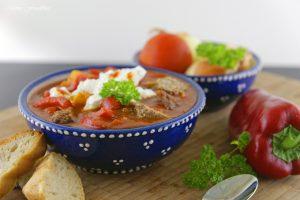 Deftige Paprikasuppe Der aromatisch würzige Suppenklassiker 2