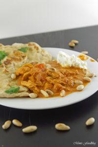 Indisches Butterhuhn Murgh makhani ein Ausflug in die indische Küche 2