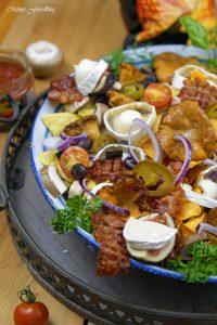 berbackene Chio Tortillas mit Pilzen und Ziegenkäse 2