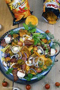 berbackene Chio Tortillas mit Pilzen und Ziegenkäse 3