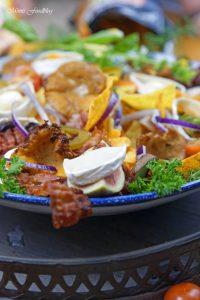berbackene Chio Tortillas mit Pilzen und Ziegenkäse 8