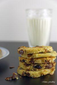 Cranberry Schoko Cookies mit Limette ein Ausflug in die amerikanische Patisserie 1