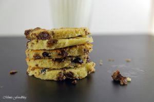 Cranberry Schoko Cookies mit Limette ein Ausflug in die amerikanische Patisserie 3