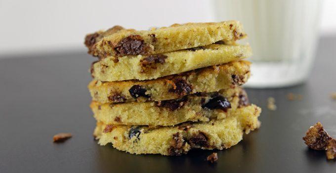 Cranberry Schoko Cookies mit Limette ein Ausflug in die amerikanische Patisserie 6