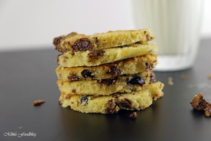 Cranberry-Schoko-Cookies mit Limette ~ ein Ausflug in die amerikanische Patisserie