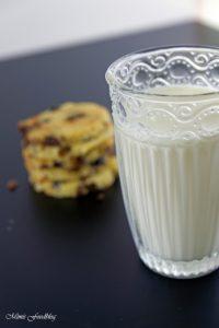 Cranberry Schoko Cookies mit Limette ein Ausflug in die amerikanische Patisserie 8