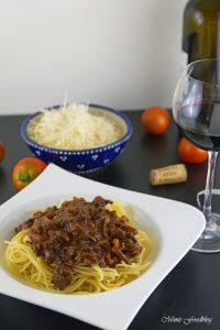 Gewürz Bolognese mit Rotwein ein Klassiker im würzigen Gewand 5