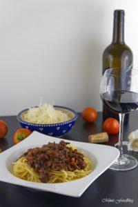 Gewürz Bolognese mit Rotwein ein Klassiker im würzigen Gewand 6