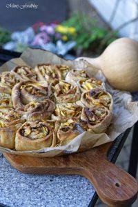 Kürbis Marzipan Mandel Kuchen aus dem Dutch Oven 10