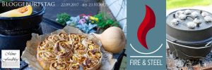 Kürbis Marzipan Mandel Kuchen aus dem Dutch Oven Banner 1 1