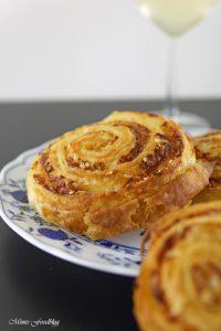 Parmesan Brot mit selbst gemachtem Blätterteig der Gourmetsnack von Nima Hemmat Azad 4
