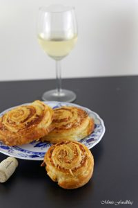 Parmesan Brot mit selbst gemachtem Blätterteig der Gourmetsnack von Nima Hemmat Azad 6