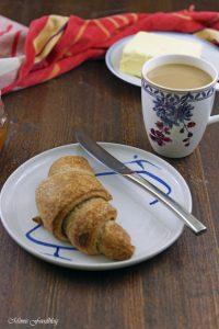 Selbst gemachte Croissants aus Vollkornmehl lasst uns gemütlich brunchen vollwertig und lecker 10