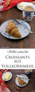 Selbst gemachte Croissants aus Vollkornmehl lasst uns gemütlich brunchen vollwertig und lecker 13