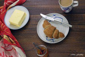 Selbst gemachte Croissants aus Vollkornmehl lasst uns gemütlich brunchen vollwertig und lecker 3
