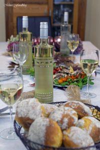 Vitello Tonnato mit Pilzen und Kürbisbrötchen Lecker in den Herbst mit BREE Wein 3