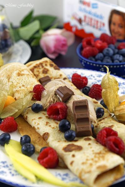 Anzeige Schokoladeneis auf Crêpes mit meiner ganz persönlichen Kinderschokolade 2 1