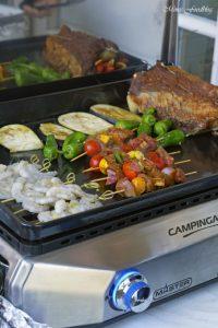 Mit Maronen und bunten Möhren gefüllte Rinderbrust Kreative Grillrezepte im Winter mit Campingaz 2