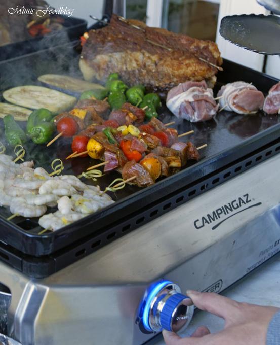 Mit Maronen und bunten Möhren gefüllte Rinderbrust Kreative Grillrezepte im Winter mit Campingaz 3