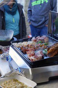 Mit Maronen und bunten Möhren gefüllte Rinderbrust Kreative Grillrezepte im Winter mit Campingaz 4