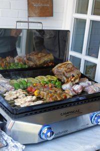 Mit Maronen und bunten Möhren gefüllte Rinderbrust Kreative Grillrezepte im Winter mit Campingaz 5