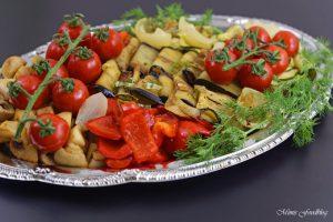 Antipasti Platte vegane Vorspeisenidee für ein geselliges Essen 1
