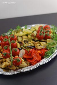 Antipasti Platte vegane Vorspeisenidee für ein geselliges Essen 2