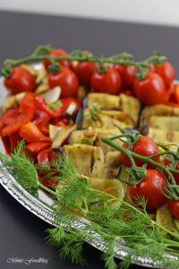 Antipasti Platte vegane Vorspeisenidee für ein geselliges Essen 4