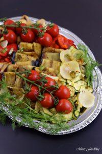 Antipasti Platte vegane Vorspeisenidee für ein geselliges Essen 5