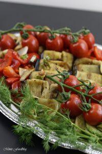 Antipasti Platte vegane Vorspeisenidee für ein geselliges Essen 7