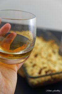 Apple Crumble mit Rum ein Soulfood Dessert mit feinstem Gekrümel 1