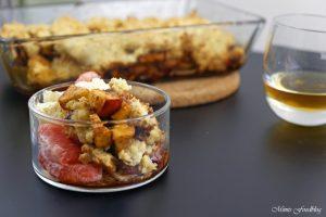 Apple Crumble mit Rum ein Soulfood Dessert mit feinstem Gekrümel 2