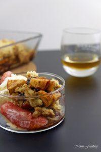 Apple Crumble mit Rum ein Soulfood Dessert mit feinstem Gekrümel 4