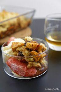 Apple Crumble mit Rum ein Soulfood Dessert mit feinstem Gekrümel 6