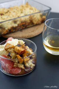 Apple Crumble mit Rum ein Soulfood Dessert mit feinstem Gekrümel 8