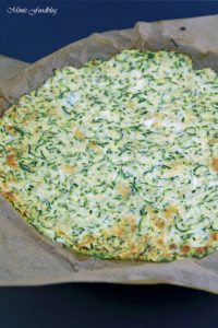Meeresfrüchte Pizza Low Carb Pizza mit Zucchini Boden 4