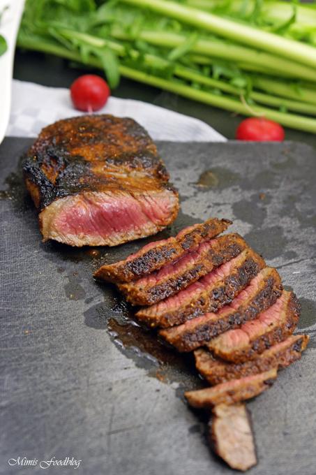in honig senf whiskey glasiertes rumpsteak saftig aromatisches steak mimis foodblog. Black Bedroom Furniture Sets. Home Design Ideas