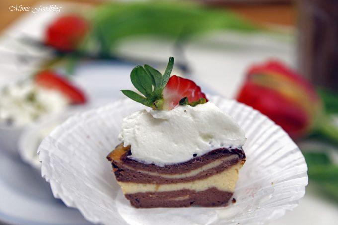 [Anzeige] Low Carb Zebra Muffin ~ besondere Idee für Gastronomen, die kostenlose Website METRO