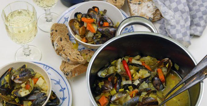 """Miesmuscheln in Weißweinsauce Muscheln darf man nur in Monaten mit """"R"""" essen – stimmt das 6"""