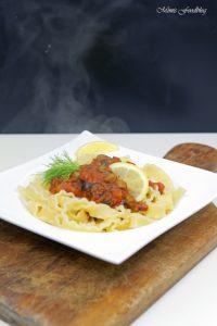 Pasta nach puttanesca Art ein Ausflug in die süditalienische Küche 2