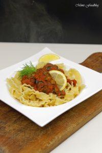 Pasta nach puttanesca Art ein Ausflug in die süditalienische Küche 3