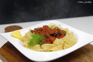 Pasta nach puttanesca Art ein Ausflug in die süditalienische Küche 5