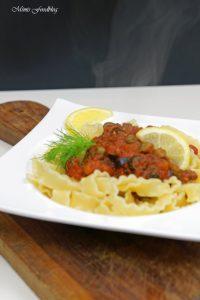 Pasta nach puttanesca Art ein Ausflug in die süditalienische Küche 6