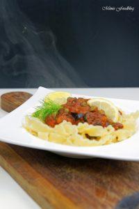 Pasta nach puttanesca Art ein Ausflug in die süditalienische Küche 7