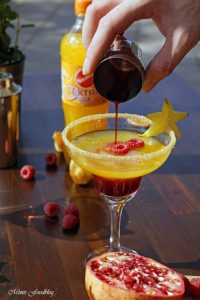 Anzeige Alkoholfreie Maracuja und Limetten Cocktails der fruchtig frische Start in den Sommer mit Sinalco EXTRA 2