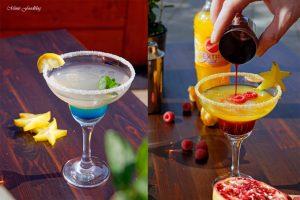 Anzeige Alkoholfreie Maracuja und Limetten Cocktails der fruchtig frische Start in den Sommer mit Sinalco EXTRA 3