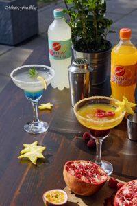 Anzeige Alkoholfreie Maracuja und Limetten Cocktails der fruchtig frische Start in den Sommer mit Sinalco EXTRA 4
