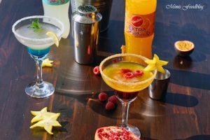 Anzeige Alkoholfreie Maracuja und Limetten Cocktails der fruchtig frische Start in den Sommer mit Sinalco EXTRA 8