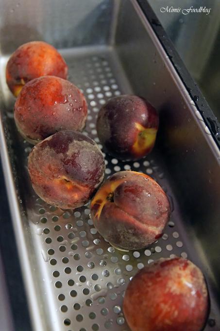 wann werden pfirsiche geerntet